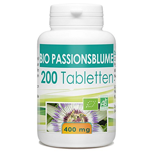 bio passionsblume 400mg 200 tabletten. Black Bedroom Furniture Sets. Home Design Ideas