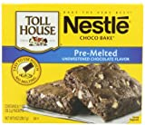 Nestle Toll House, Choco Bake, Pre-Melted Unsweetened Chocolate Flavor, 8 Packets, 1 oz (28.3 g) Each