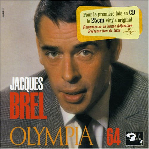 Jacques Brel - Olympia 64 (Live) (Cd 9) - Zortam Music