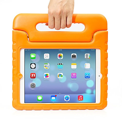 ACEGUARDER® ipad air2 ケース eva ipad air2 子供 カバー 子供用 カバーケース おしゃれ かわいい 手帳 おもしろ おすすめ ディズニー プー ミッキー 防塵 耐衝撃 保護ケース オレンジ
