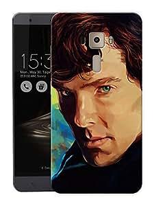 "Sherlock LovePrinted Designer Mobile Back Cover For ""Asus Zenfone 3 Laser"" (3D, Matte, Premium Quality Snap On Case)"