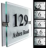 Modern Acrylic Address Plaque