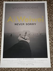 AI WEIWEI NEVER SORRY 11x17 INCH PROMO MOVIE POSTER
