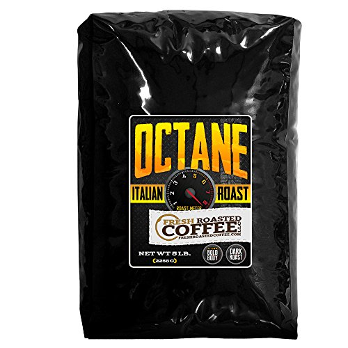 Octane Blend, Whole Bean Coffee, Fresh Roasted Coffee LLC. (5 Lb.) (Fresh Roasted Coffee Llc 5lb compare prices)