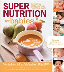 Super Nutrition for Babies book cover