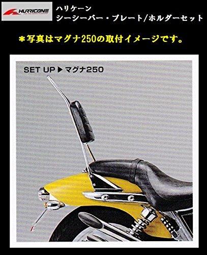 ハリケーン シーシーバー・プレート/ホルダー セット (高さ500mm) マグナ250/S