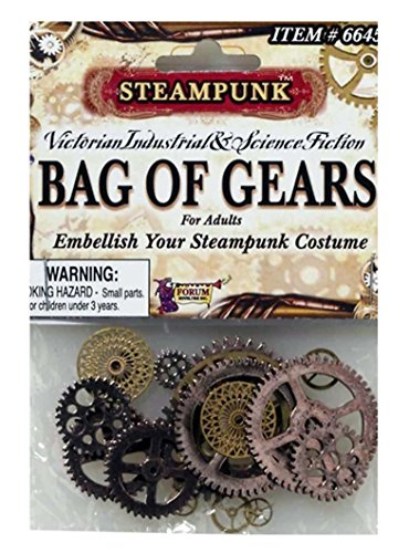 [Steampunk Bag of Gears Standard] (Steampunk Costumes Men)