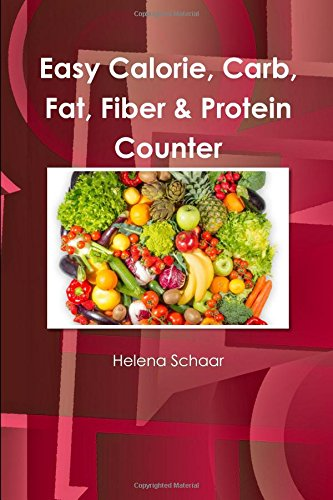 Easy Calorie, Carb, Fat, Fiber & Protein Counter PDF