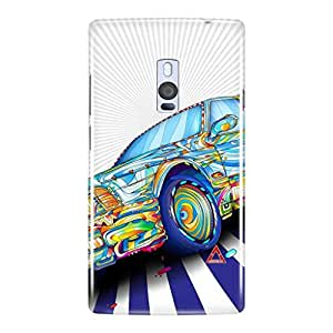 a AND b Designer Printed Mobile Back Cover / Back Case For OnePlus 2 (1Plus2_3D_3537)
