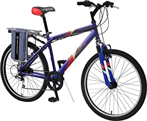EZIP MTN Trailz Electric Mountain Bike (26-Inch Wheels)