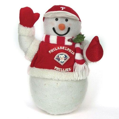 Philadelphia Phillies Fiber Optic Snowman at Amazon.com