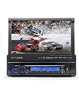 Muse M-728 DR Autoradio avec Lecteur DVD Bluetooth/USB Noir