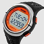 AxiEr Sporty Waterproof Heart Rate Wa...