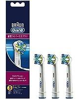 【正規品】 ブラウン オーラルB 電動歯ブラシ 替ブラシ 歯間ワイパー付きブラシ(フロスアクション) 3本入り EB25-3-EL