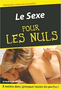 Le sexe pour les nuls par Ruth Karola Westheimer