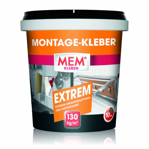 mem montage kleber extrem 1 kg 500548. Black Bedroom Furniture Sets. Home Design Ideas
