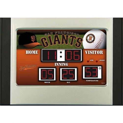 San Francisco Giants Alarm Clock Desk Scoreboard