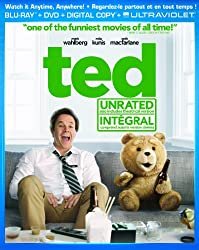 Ted [Blu-ray + DVD + Digital Copy + UltraViolet]