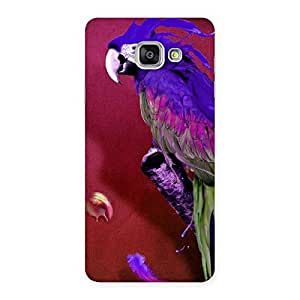 Magic Parrot Multicolor Back Case Cover for Galaxy A7 2016
