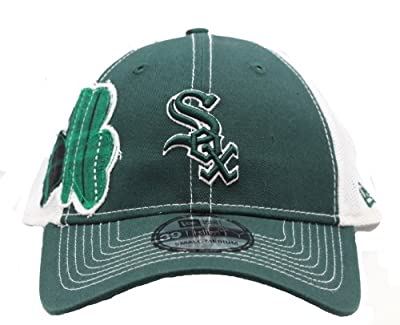 Chicago White Sox St Patrick's Day Shamrock Stretch Fit Hat