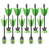Zing Toys Air 10 Units Extra Arrows Suction Cup Arrows Refills Whistle Arrows Green