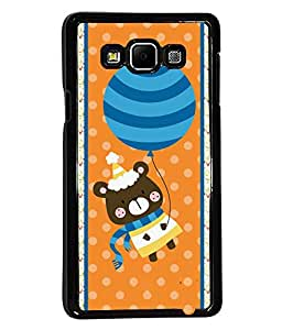 Fuson 2D Printed Cartoon Designer back case cover for SAMSUNG GALAXY A7 A700F - D4421