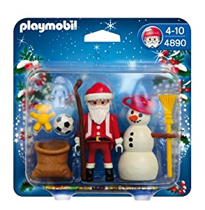 PLAYMOBIL Santa Claus with Snowman