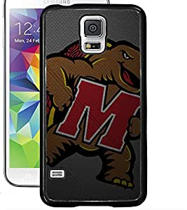 """ColourCraft Alphabet """"M"""" with Image Design Back Case Cover for SAMSUNG GALAXY S5"""