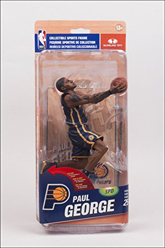 Paul George Indiana Pacers McFarlane NBA 25 Collector Level BRONZE #/1500
