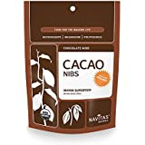 Navitas Naturals Organic Raw Cacao Nibs, 16-Ounce Pouches (Pack of 2)
