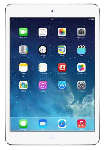 Apple iPad Mini 2 Retina Tablet Wi-Fi, 32GB, Argento [Italia]