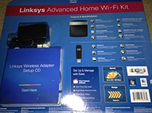 Linksys Advanced N600 Dual-Band Router and USB Adapter