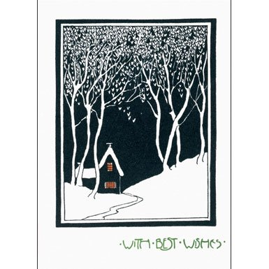 House in the Snow Pack of 10 Christmas Cards (Large Rectangle)||RF10F