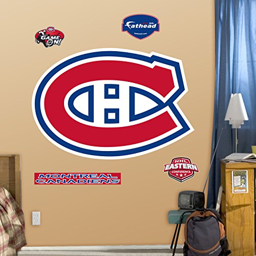 NHL Montreal Canadiens Logo Wall Decal