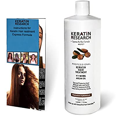 Brazilian Keratin Hair Treatment 1000ml Professional Complex Formula Proven Amazing Results available Worldwide
