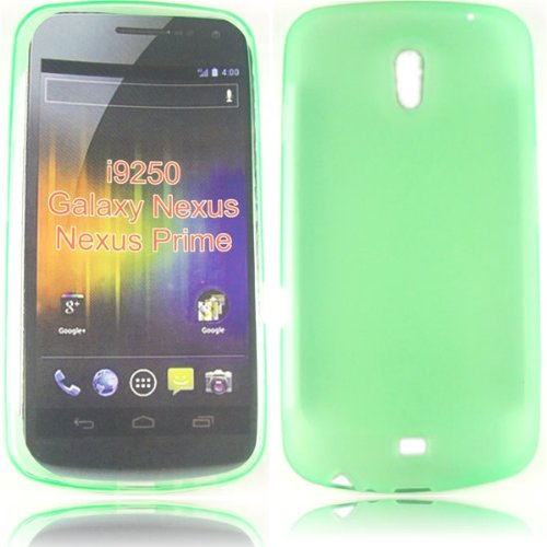 Gel Decken Fall Haut F&#252;r Samsung Galaxy Nexus i9250 / Green