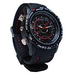 Gadget Advice Cool 4 Gb Flash Waterproof Wrist Watch Action Video Master With Dvd Video Camera Spycam