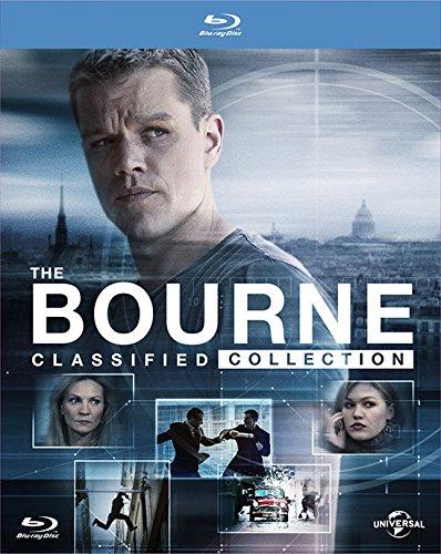 (ジェイソン・ボーン公開記念) ボーン・クアドリロジー [Blu-ray]