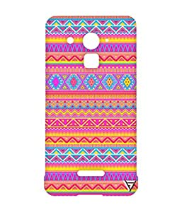 Vogueshell Jaipuri pattern Printed Symmetry PRO Series Hard Back Case for Coolpad Note 3 Lite