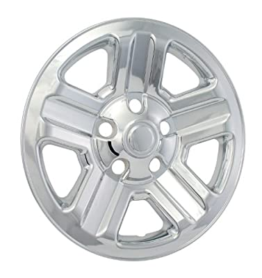 "Bully Imposter IMP-76X, Jeep, 16"" Chrome Replica Wheel Cover, (Set of 4)"