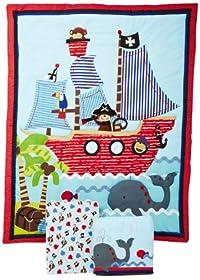 New Bedtime Originals Piece Treasure Island Crib Bedding Set price