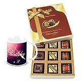 Chocholik Luxury Chocolates - Amazing Celebration Of Pralines Chocolates With Birthday Mug