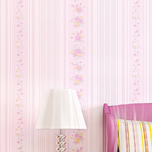 feis-non-woven-cloth-warm-romantic-bedroom-garden-room-three-dimensional-vertical-streaks-floral-wal