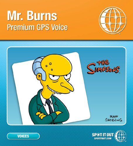 Mr Burns GPS Voice for TomTom Legacy (PC only) 
