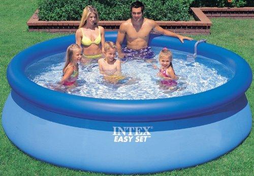intex aufstellpool easy set pools blau 366 x 91 cm kinderpools kinderpools. Black Bedroom Furniture Sets. Home Design Ideas