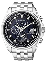 Citizen Herren-Armbanduhr XL Analog Quarz Edelstahl AT9030-55L