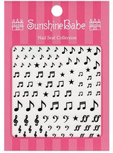 SunshineBabe ネイルシール ミュージックA