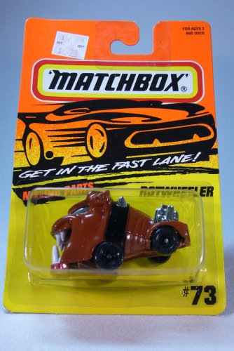 Matchbox 1994 Superfast Rotwheeler Die Cast Car Collector #73 - 1