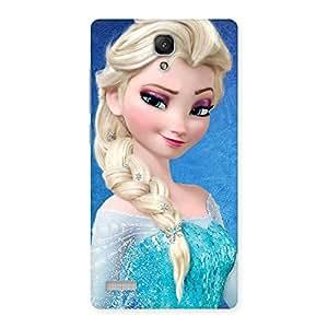 Premier Princess Wink Back Case Cover for Redmi Note
