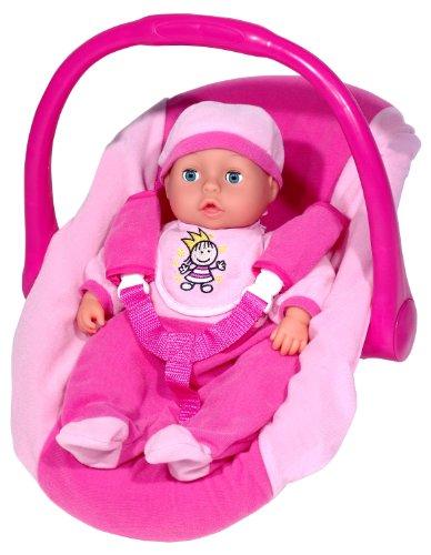 Imagen 1 de Silla de coche para muñecas con muñeca de 38 cm